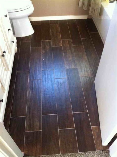 Bathroom Ideas:Wood Look Tile Bathroom Floor Luxurious