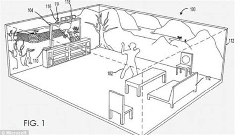 How To Draw 3d Furniture by Microsoft Shows New Holodeck System To Turn Your