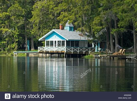 river boat house boat house on rainbow river ocala national forest