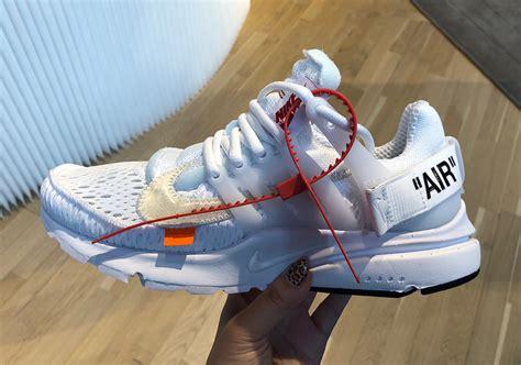 Offwhite 100 Original white nike presto white aa3830 100 release date