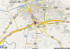 map of inn tuscaloosa tuscaloosa
