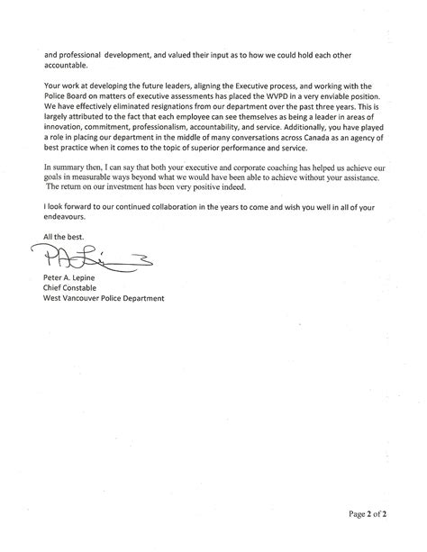consultant recommendation letter recommendation letters livecareer
