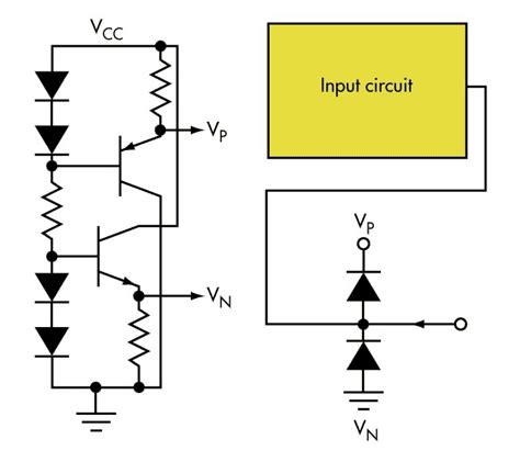 diode circuit limiter voltage limiter generates supplies that improve standard diode technique