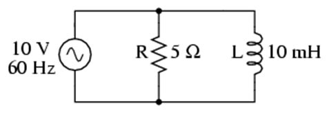 impedance of parallel inductors parallel resistor inductor circuits