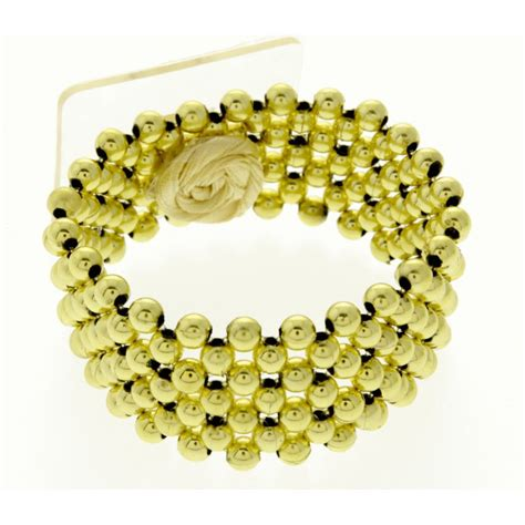 narrow classic corsage bracelet gold corsage creations
