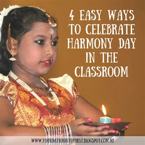 7 Ways To Celebrate The Start Of by 4 Easy Ways To Celebrate Harmony Day In The Classroom