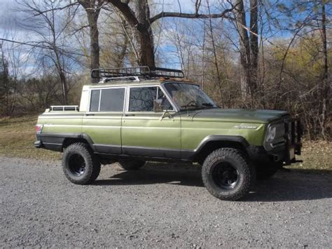 1970 Jeep Grand 1970 Jeep Grand Wagoneer 4 Speed Manual For Sale In Laurel