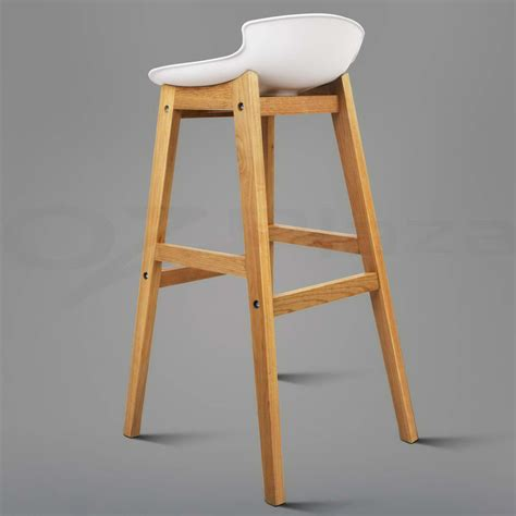 oak wood bar stools 2x oak wood bar stools wooden barstool dining chairs