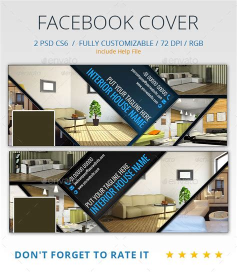 home design interior facebook interior design facebook cover by abira graphicriver