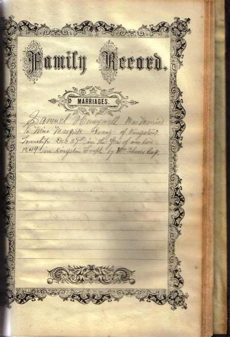 Arundel County Marriage Records Honeywell Bible Records Images Of Family Records Pages