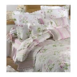 parure de lit en percale de coton parure de lit percale de coton tendresse blancollection