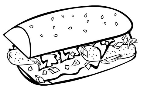 junk food coloring pages az coloring pages
