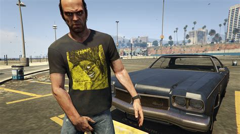 Hoodie Grand Theft Auto 5 01 the crs t shirts for trevor gta5 mods