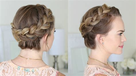 braidout using royal crown dutch crown braid for beginners missy sue youtube