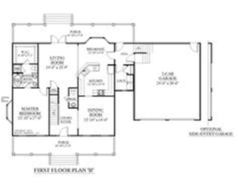 1000 Images About 1 1 2 Story House Plans On Pinterest House Plans 3 Car Garage With Rooms Above