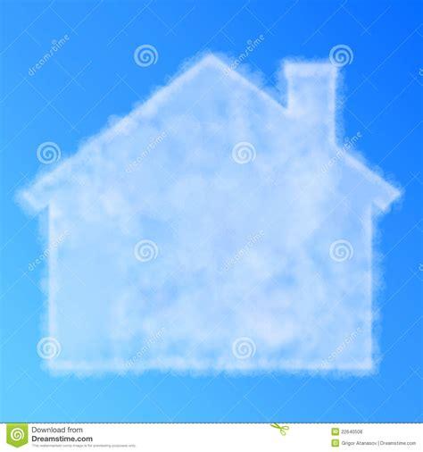cloud house cloud house royalty free stock photos image 22640508