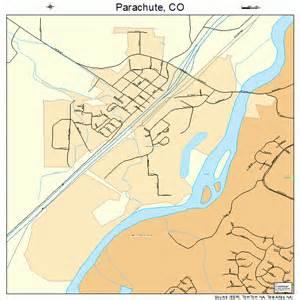 parachute colorado map 0857400