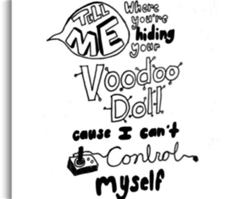 black doll quotes voodoo is back quotes quotesgram