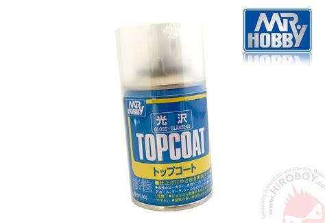 Mr Hobby Topcoat Gloss B501 Spray Top Coat Gloss mr topcoat gloss 86ml gsi b501 gunze sangyo mr hobby