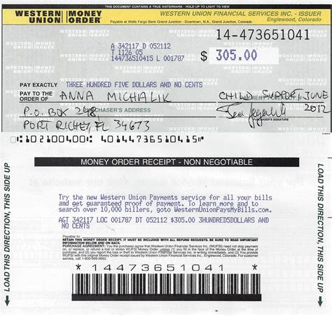 western union money order receipt template money order receipt template 28 images money receipt