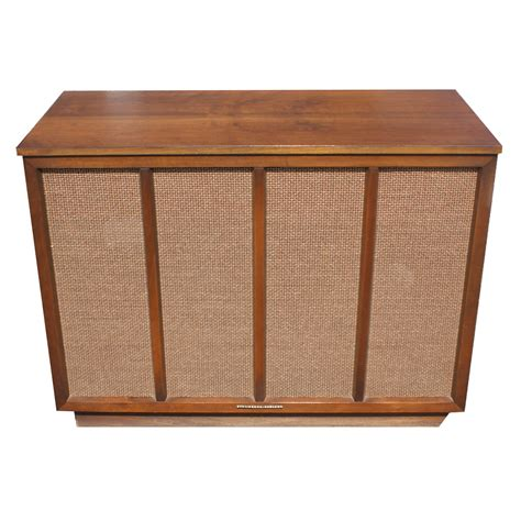 Stereo Cabinet by Stromberg Carlson Mesh Front Radio Stereo Cabinet Ebay