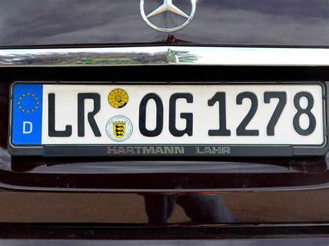 Auto Kennzeichnen by Die Stolzen Lahrer Und Ihr Autokennzeichen