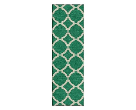 Green Runner Rug Jaipur Rugs Maroc Rafi Rectangular Emerald Green Runner Rug Mr80 Run