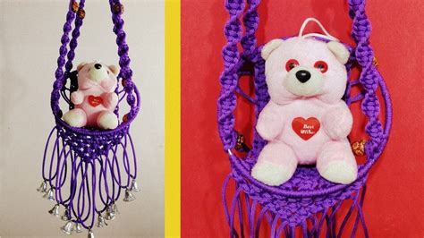 DIY Simple Macrame Jhula    Macrame Wall Art Wall Hanger., My Crafts and DIY Projects