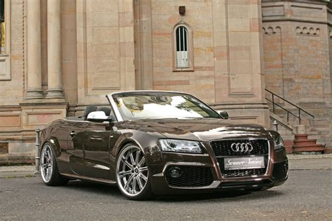 audi a5 modified audi a5 cabrio by senner tuning