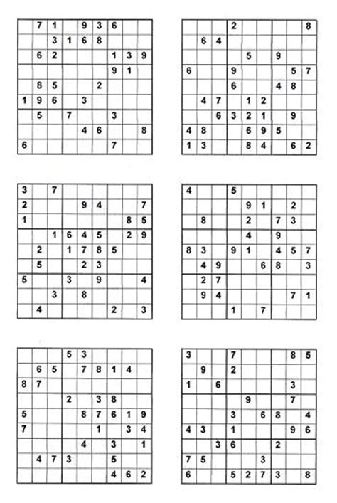printable sudoku directions related keywords suggestions for hard sudoku 4 per page