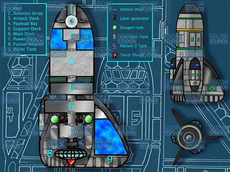 spaceship floor plan generator deck plans atomic rockets