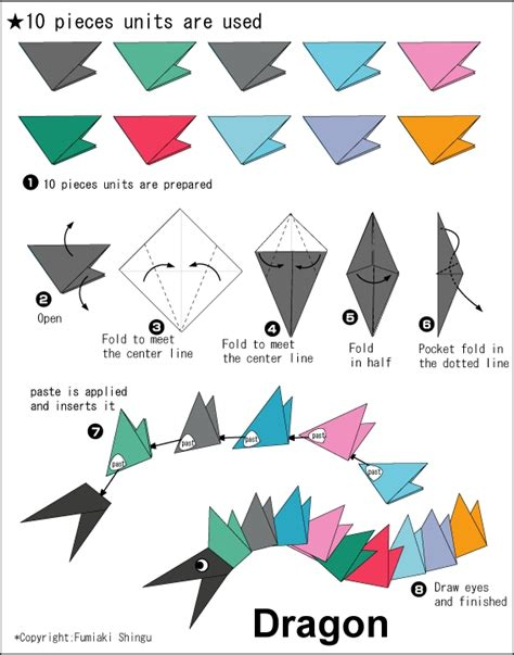 Origami Dragonfly Step By Step - origami easy how to make origami