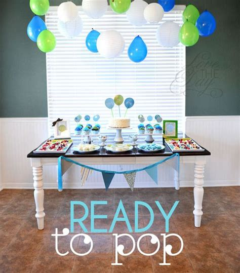ready to pop baby shower theme decorations baby shower themes pop baby showers and baby shower