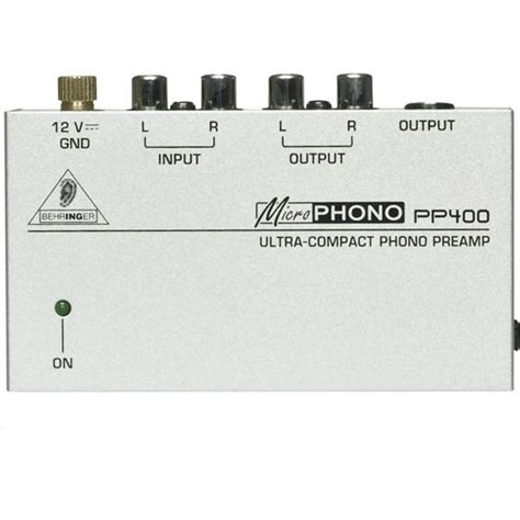 Behringer Phono Prelifiers Microphono Pp400 bajaao buy behringer microphono pp400 ultra compact