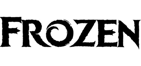 frozen font  famous fonts