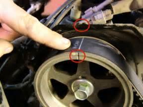 Toyota Timing Belt Toyota Maintenance 3 4l V6 Timing Belt Replacement