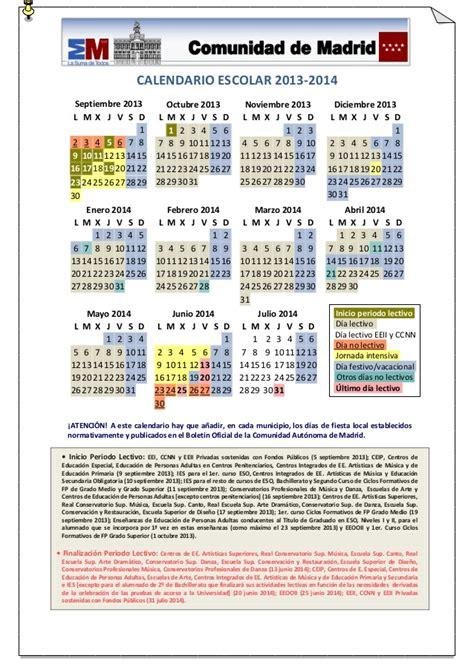 Calendario J 14 Calendario Escolar