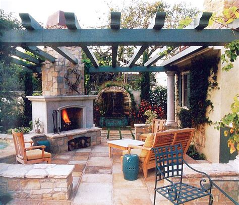 Pergola With Fireplace by 19 Best Images About Backyard Pergola On
