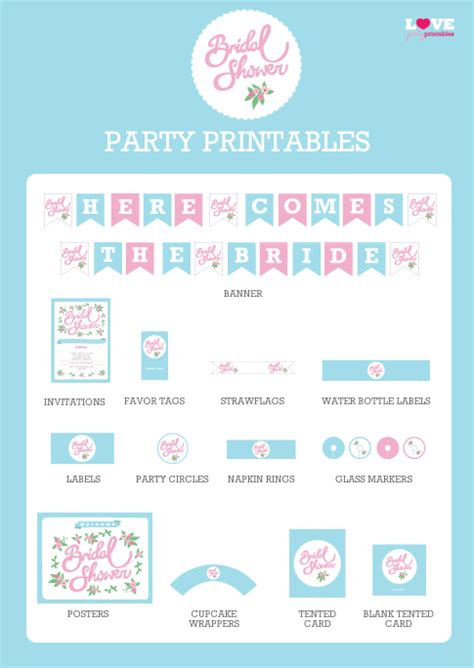 printable bridal shower for free free bridal shower printables from