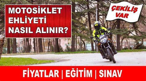 motosiklet ehliyeti nasil alinir dikkat edilmesi