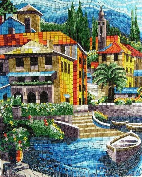 mosaic pattern landscape mosaic landscape by reem derbala mosaic landscape glass