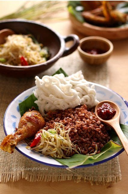 Bali Brown Rice 111 best images about nasi rames indonesia on