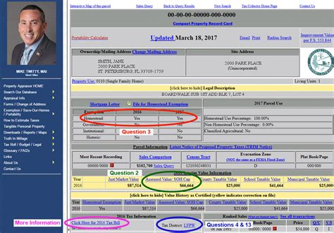 Pinellas County Property Appraiser Search By Address Forward Pinellas The Property Appraiser S Office Website