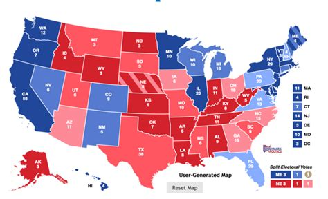 2016 electoral map predictions 1 post gop convention electoral map predictions updated