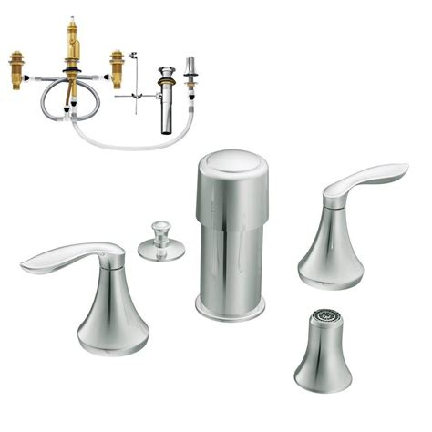 moen eva  handle bidet faucet trim kit  valve