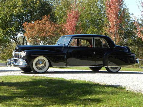 1948 lincoln continental coupe 1948 lincoln continental coupe model 876h for sale
