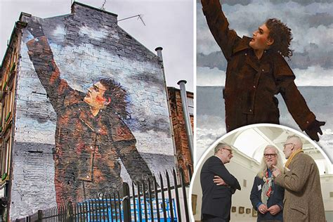 billy connolly overjoyed   foot glasgow murals