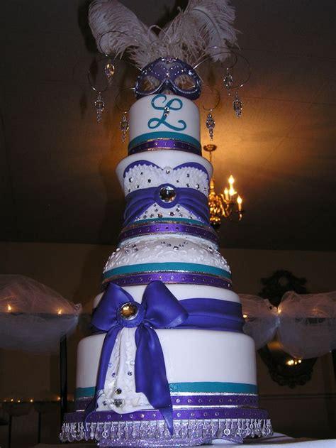 masquerade themed quinceanera cakes masquerade theme quincinera cake my design was inspired