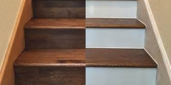Stair Risers by Painting Your Hardwood Stair Risers