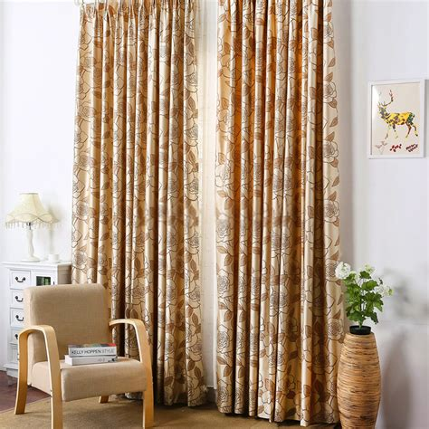 gold blackout curtains decent spun gold jacquard light coffee thermal blackout